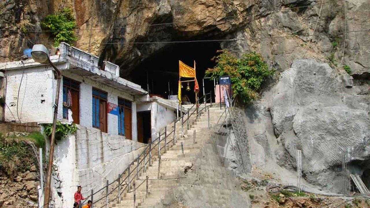 Secret Of Shivkhori Cave Situated On The Shivalik Mountain