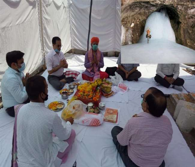 Baba Amarnath Yatra 2020:Fist Puja In Jammu For Baba Amarnath Yatra, Likely To Start Yatra From July 15