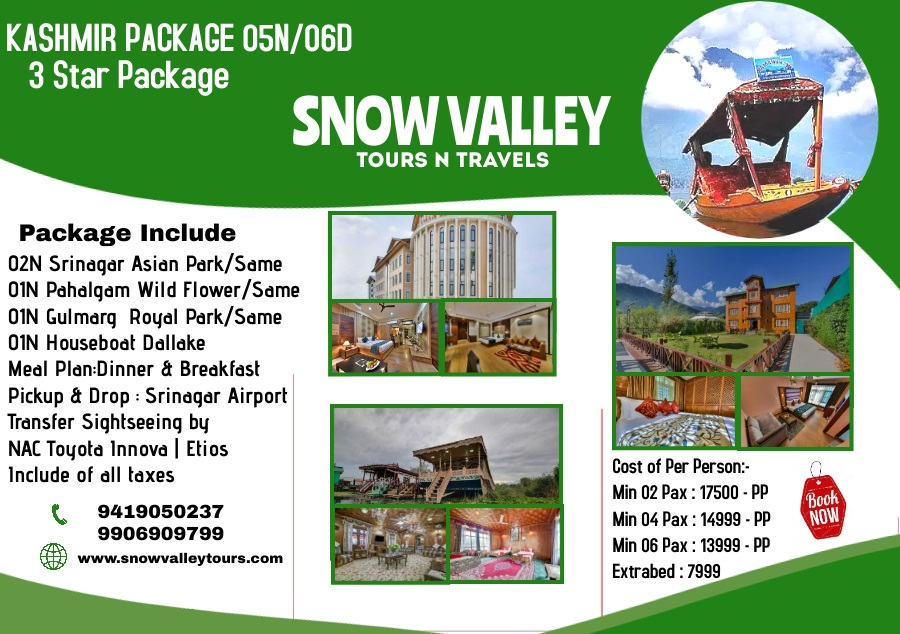 SNOW VALLEY TOURS & TRAVELS