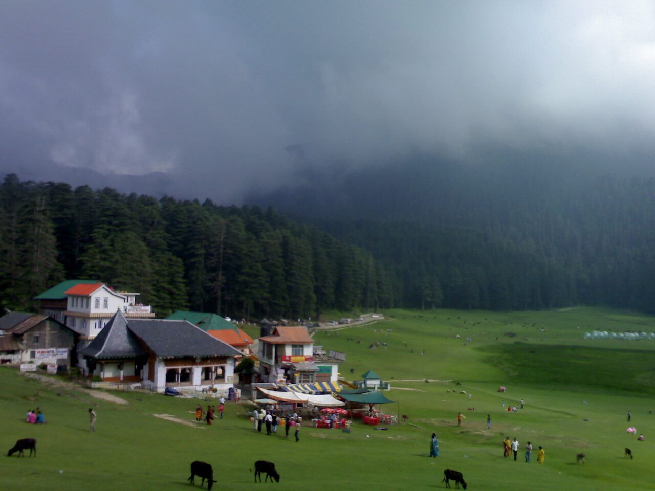 Dalhousie Dharamshala Package From Delhi