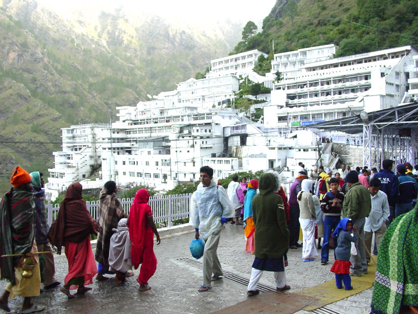 Vaishno Devi Darshan Tour Package From Patna By Train