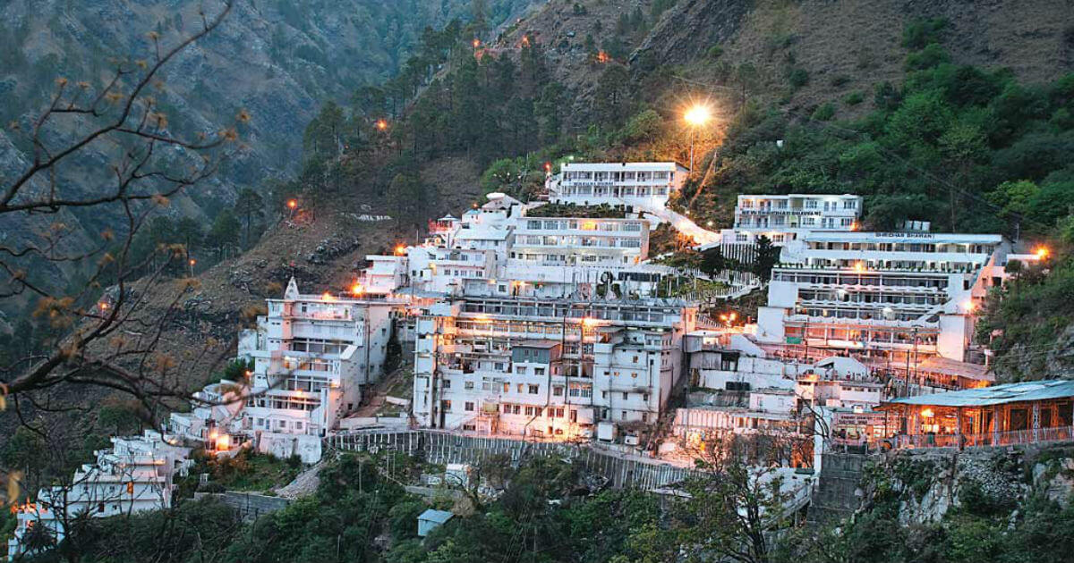 Vaishno Devi Darshan Tour Package From Bangalore By Train