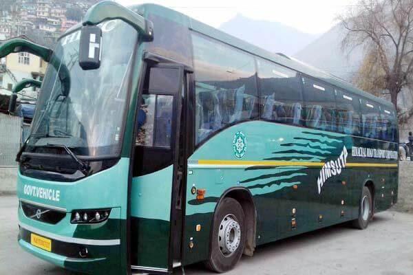 Shimla Volvo Tour Package From Delhi